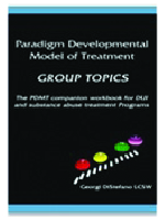 Paradigm Developmental Model of Treatment: Group Topics cover