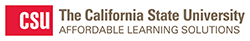 California State University Affordable Learning Solutions logo